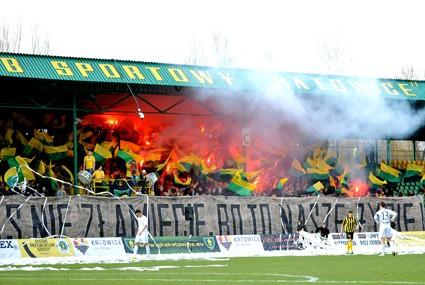 Kibice GKS-u Katowice