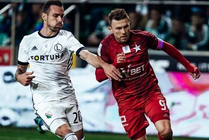 Marko Vesović i Rafał Boguski (z prawej)