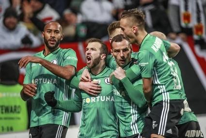 Piłkarze Legii Warszawa