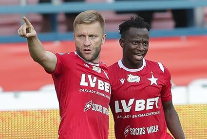 Jakub Błaszczykowski i Yaw Yeboah
