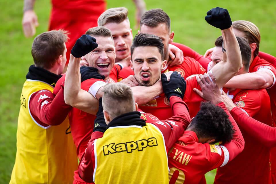 Piłkarze Widzew Łódź