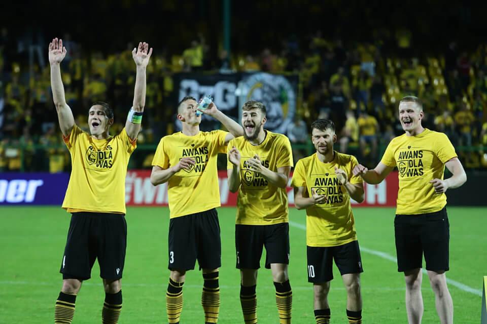 Piłkarze GKS-u Katowice