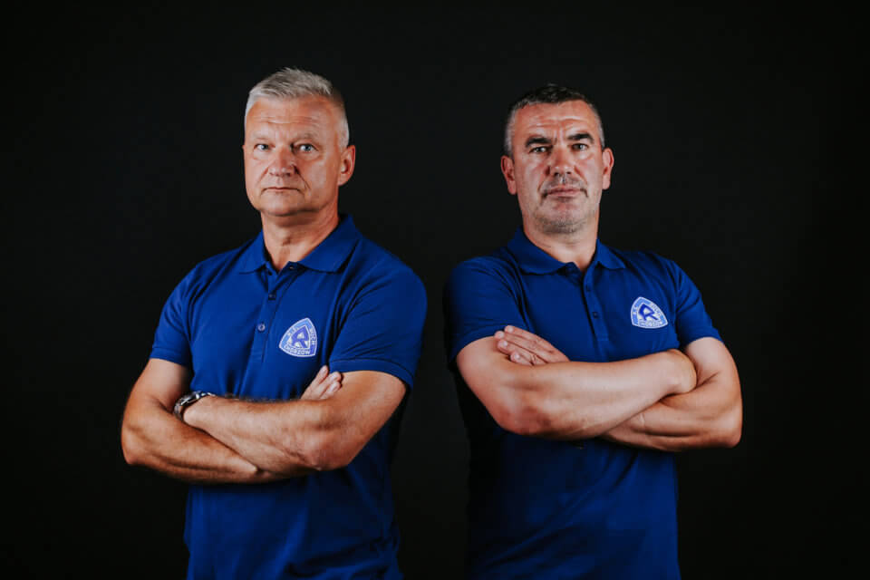 Jarosław Skrobacz i Jan Woś